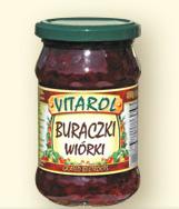 Buraczki wiórki 320g- Vitarol