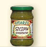 Szczaw konserwowy 320g - Vitarol