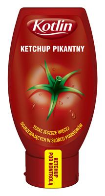 Ketchup pikantny 450g - Kotlin