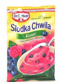 Słodka chwila kisiel owoce leśne 31,5g- Dr. Oetker