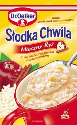 Słodka chwila mleczny ryż z cynamonem - Dr. Oetker