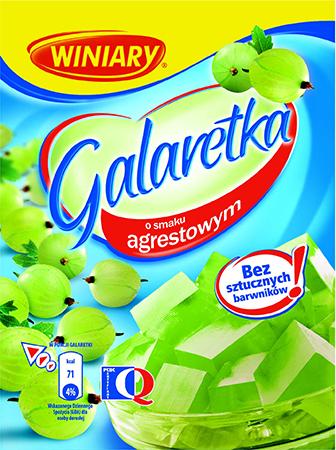 Galaretka agrestowa - Winiary