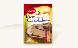 Krem tortowy o smaku czekoladowym 115g - Delecta