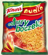 Nudle Ostry boczek 64g - Knorr