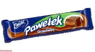 Batonik Pawełek Orzechowy 45g Wedel