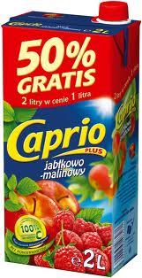 Caprio jabłko malina 2l Tymbark