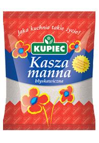 Kasza manna błyskawiczna 400g - Kupiec