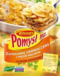 Pomysł na zapiekankę ziemniaczaną z mięsem mielonym 42g Winiary