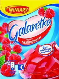 Galaretka malinowa 75g Winiary