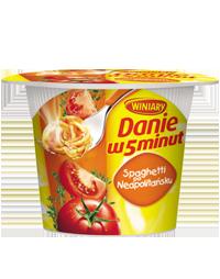 Danie w 5 minut Spaghetti po neapolitańsku 55g Winiary