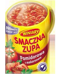 Smaczna zupa Pomidorowa z grzankami 18g Winiary