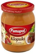 Klopsiki w sosie pomidorowym 500g Pamapol