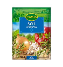 Sól ziołowa 35g Kamis