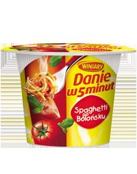 Danie w 5minut Spaghetti po bolońsku 55g Winiary