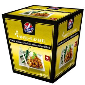 Kitchen Joy chicken tikka masala with jasmine rice 350g