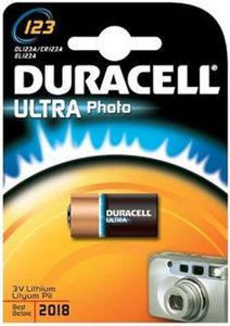 Bateria DL123A / CR123A EL123A 3V Duracell
