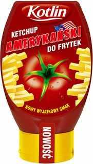 Ketchup amerykański do frytek 450g - Kotlin