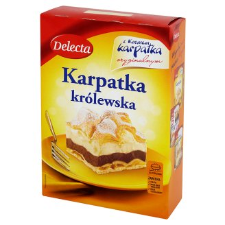 Ciasto Karpatka królewska 410g - Delecta