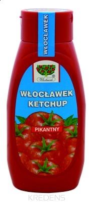 Ketchup pikantny 480g. WŁOCŁAWEK