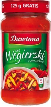 Sos węgierski z pieczarkami 550g - Dawtona