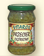 Przecier ogórkowy 320g - Vitarol