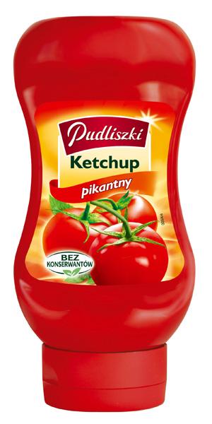 Ketchup pikantny 480g - Pudliszki