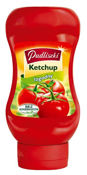 Ketchup łagodny 480g - Pudliszki