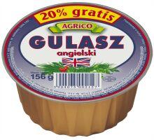 Gulasz angielski 156g - Agrico