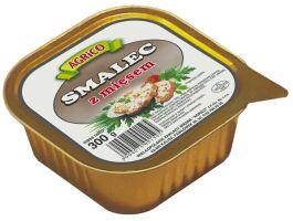 Smalec z mięsem 300g - Agrico