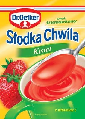 Słodka chwila kisiel truskawkowy - Dr. Oetker