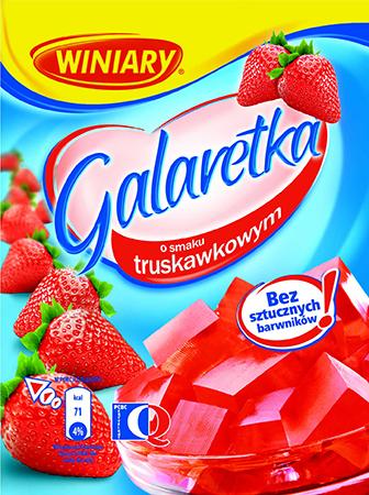 Galaretka truskawkowa - Winiary