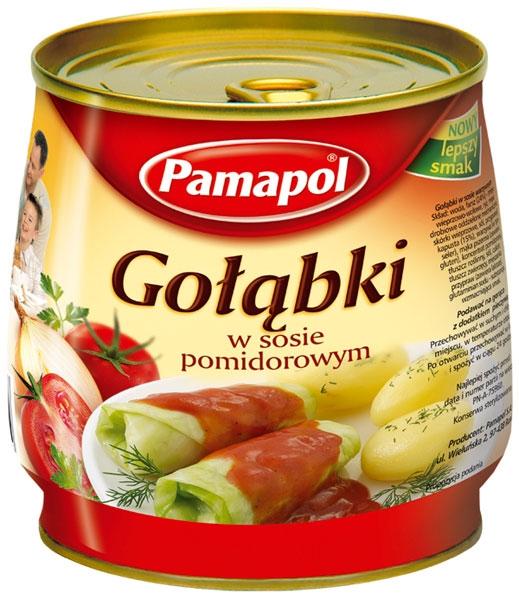 Gołąbki w sosie pomidorowym 920g - Pamapol