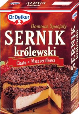 Ciasto Sernik królewski 520g - Dr. Oetker