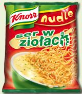 Nudle Ser w ziołach 64g - Knorr