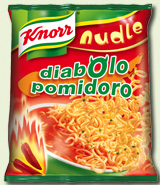 Nudle Diabolo pomidoro 66g - Knorr