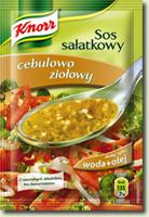 Sos sałatkowy Cebulowo ziołowy 9g- Knorr