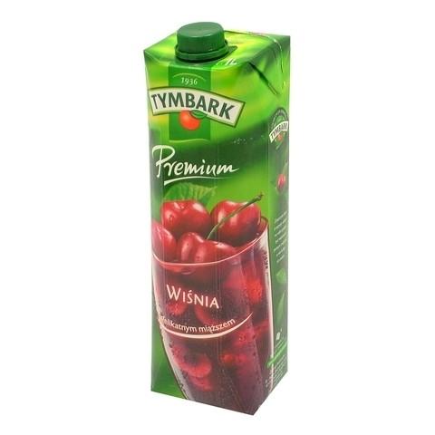 Premium nektar wiśnia 1L karton Tymbark