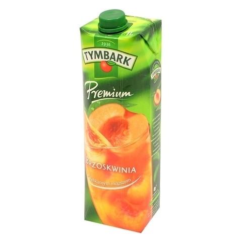 Premium nektar brzoskwinia 1L karton Tymbark