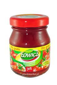 Koncentrat pomidorowy słoiczek  80g - Łowicz