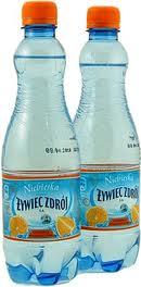Woda gazowana pomarańcza 0,5l Żywiec