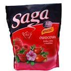 Herbata expresowa Saga owocowa dzika róża i malina 50g