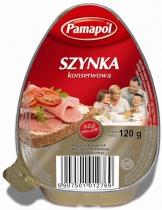 Szynka konserwowa 120g Pamapol