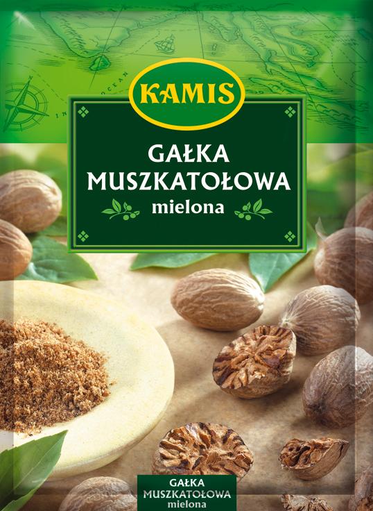 Gałka muszkatołowa mielona 15g Kamis
