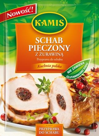 Przyprawa do schabu Schab pieczony z żurawiną 20g Kamis