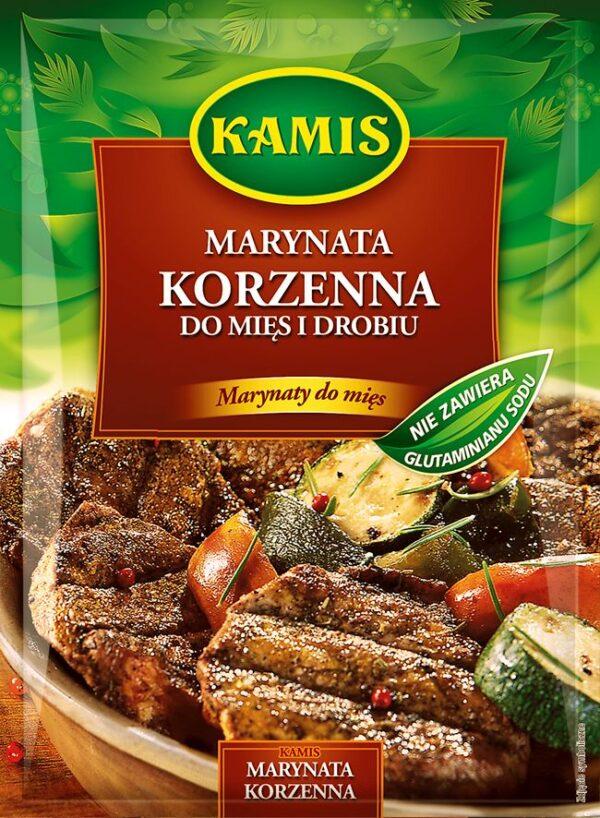 Marynata Korzenna do mięs i drobiu 20g Kamis