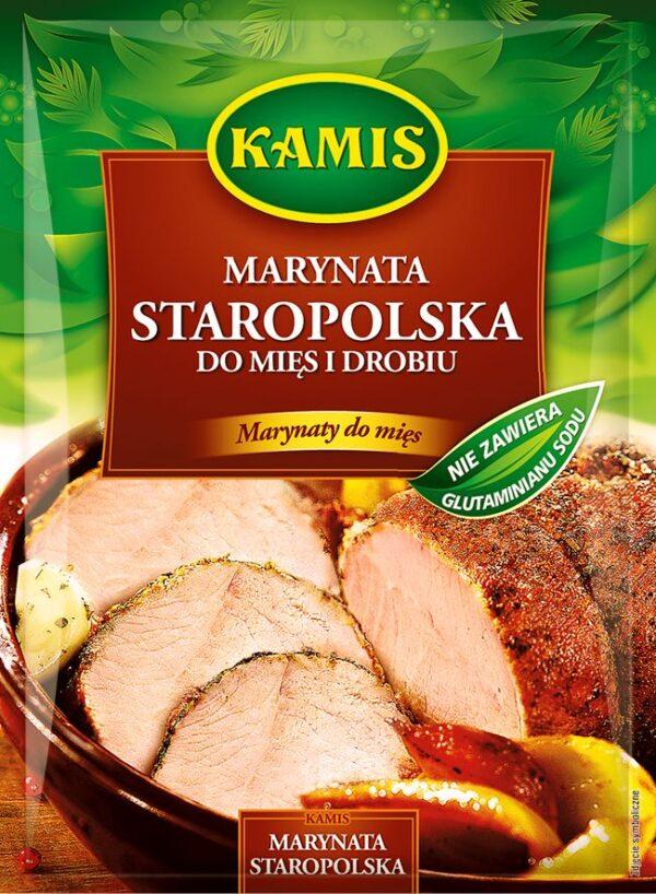 Marynata Staropolska do mięs i drobiu 20g Kamis