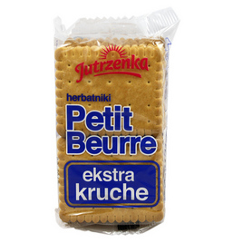Ciastka Petit Beurre ekstra kruche 100g Jutrzenka