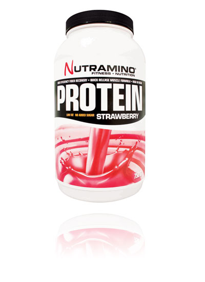 Nutramino Protein strawberry 750g