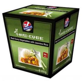 Kitchen Joy green curry chicken with jasmine rice 350g