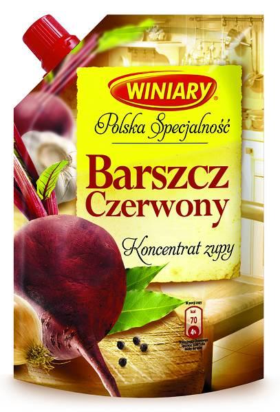 Barszcz czerwony koncentrat zupy 155g Winiary